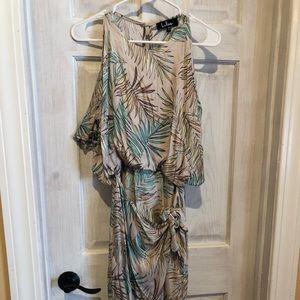 Lulus NEW floral dress xs